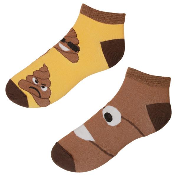 Veselé ponožky hovienko