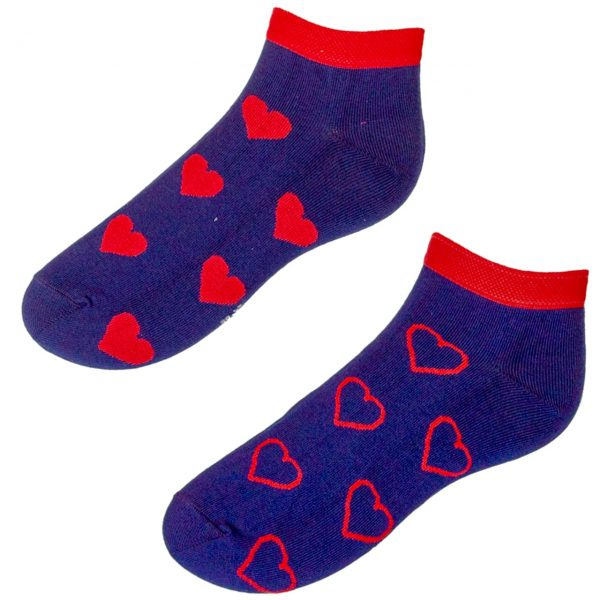 Veselé ponožky srdiečka