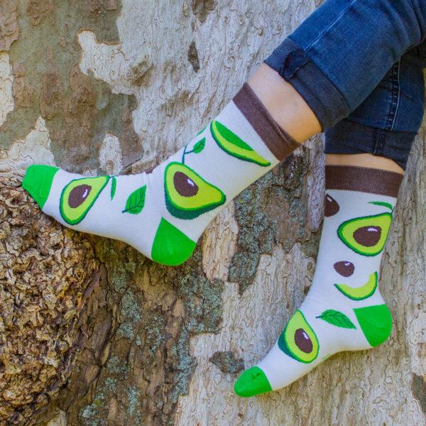 Veselé ponožky POHODKY Avokádo