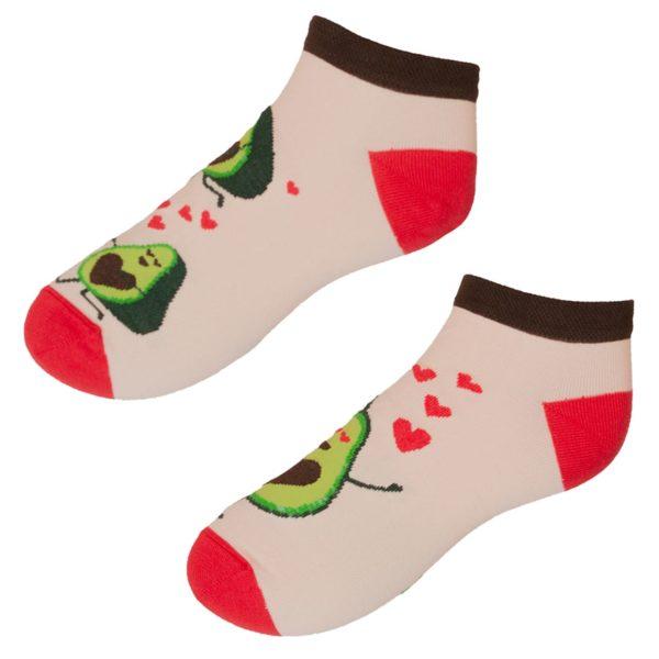 Veselé ponožky POHODKY Avokádo láska
