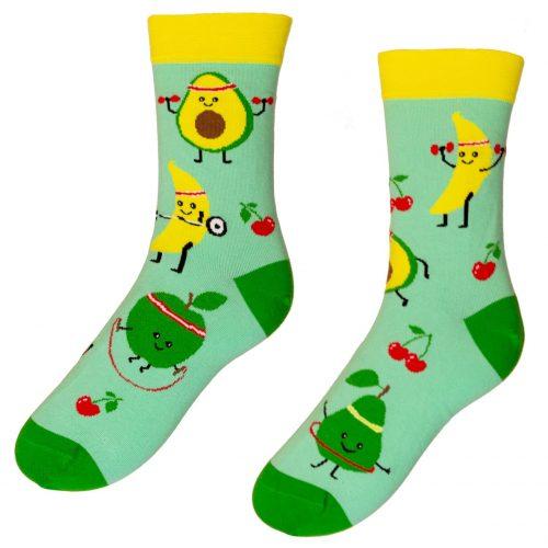Veselé ponožky Fit Ovocie