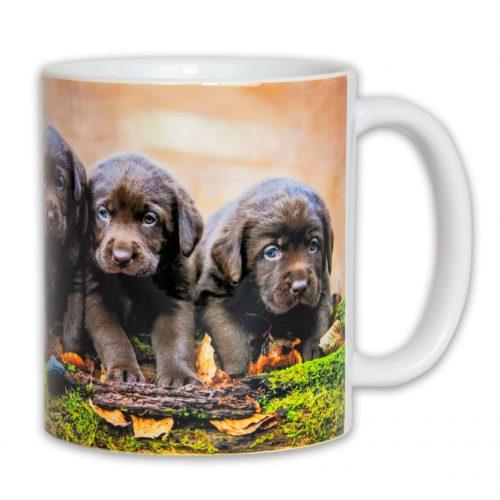 Hrnček s obrázkom - Šteniatka Labradora