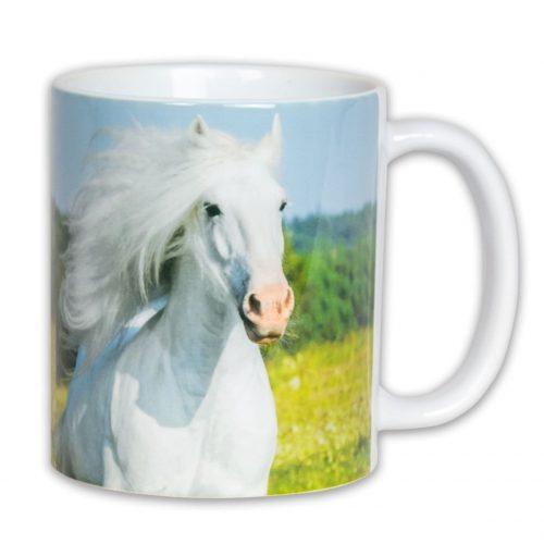 Hrnček s obrázkom - Biely Kôň
