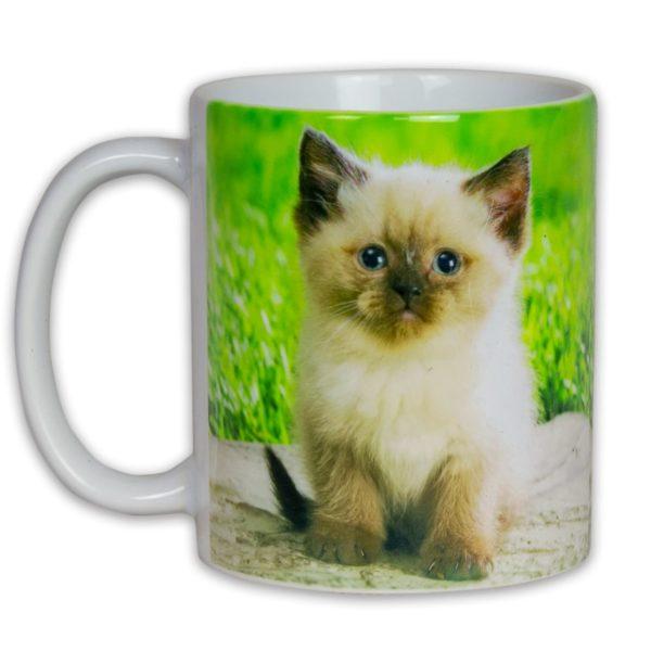 Hrnček s obrázkom - Mačiatko