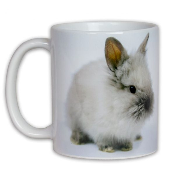 Hrncek s obrazkom zajacik