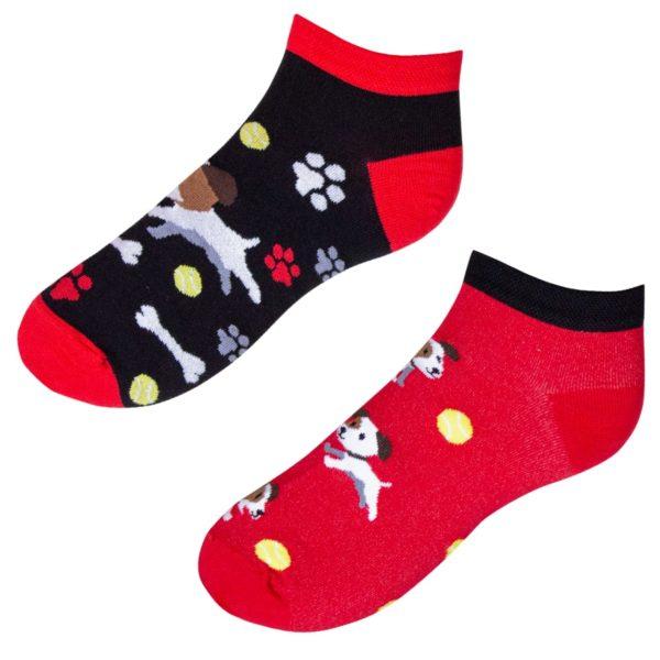 Veselé ponožky POHODKY Pes a lopta