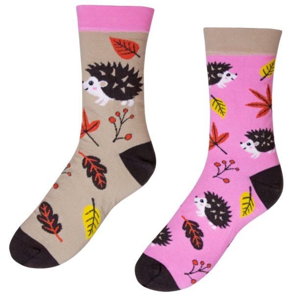 Veselé ponožky POHODKY Ježko