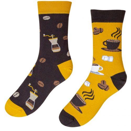 Veselé ponožky POHODKY Káva