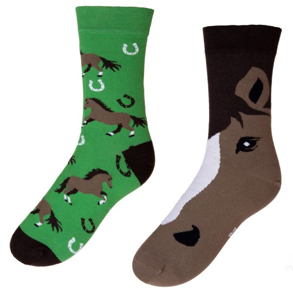 Veselé ponožky POHODKY Kone