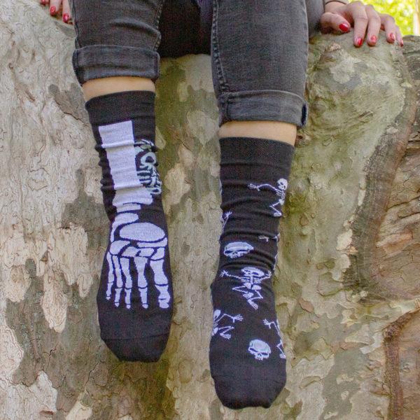 Veselé ponožky POHODKY Kostra