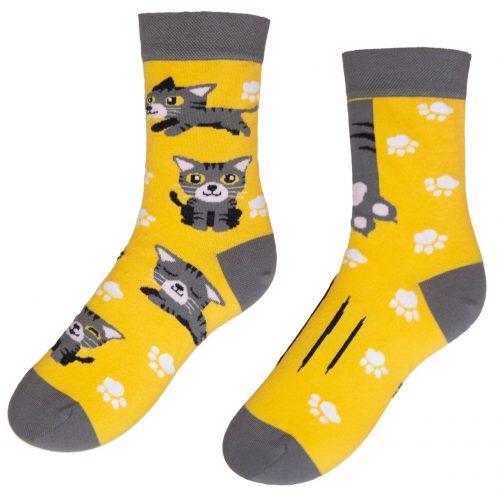 Veselé ponožky POHODKY Mačka
