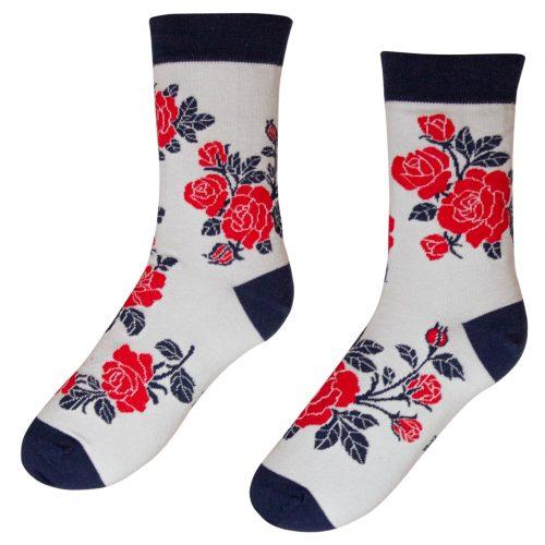 Veselé ponožky POHODKY Ruža