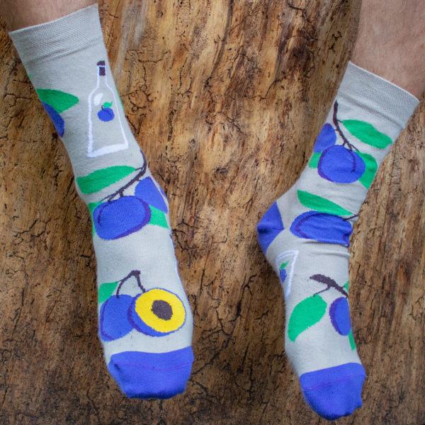 Veselé ponožky POHODKY Slivovica