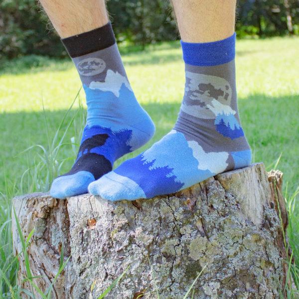 Veselé ponožky POHODKY Vlk