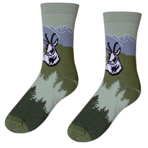 Veselé ponožky POHODKY Vysoké Tatry