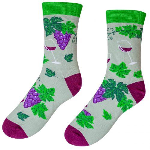 Veselé ponožky POHODKY Červené Víno