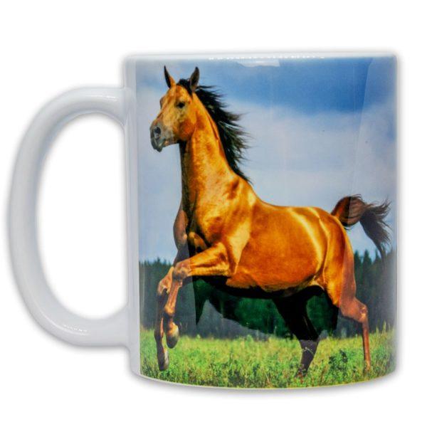 Hrnček s obrázkom - Cválajúci Kôň