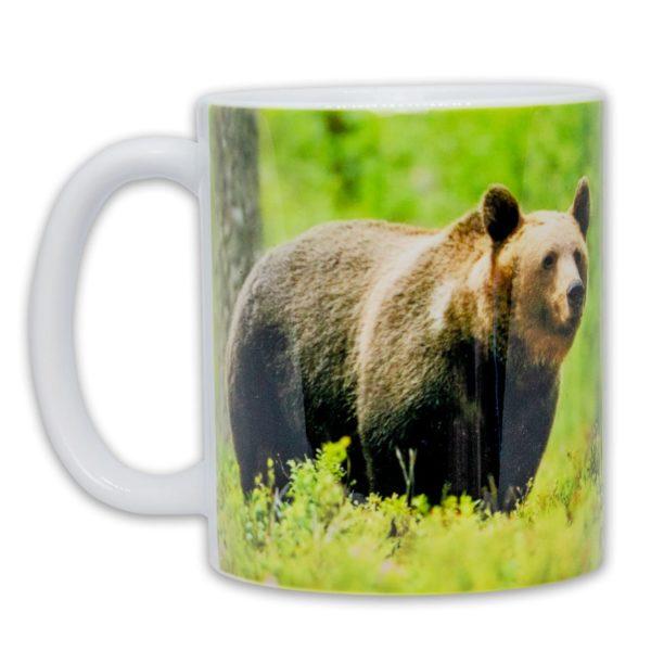 Hrnček s obrázkom - Medveď