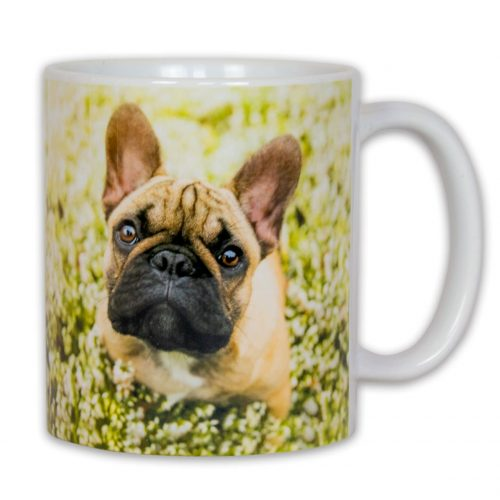 Hrnček s obrázkom - Pes Francúzky Buldoček