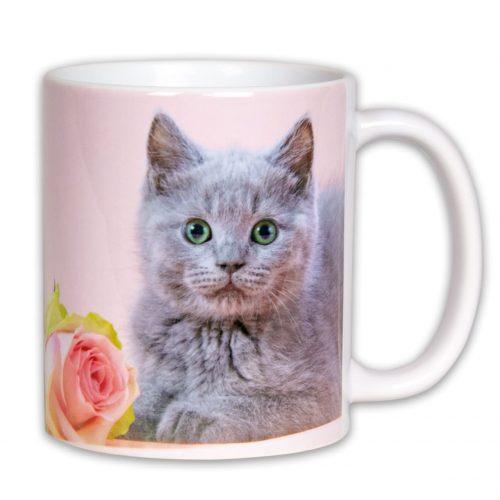 Hrnček s obrázkom - Britská Mačka