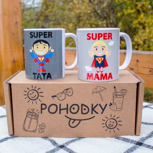 Hrnčeky s obrázkom - Mama a Otec