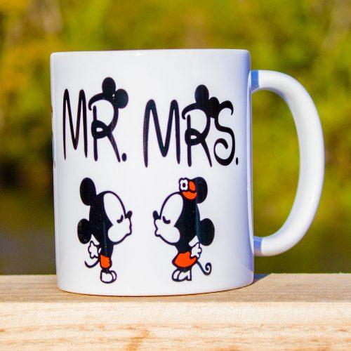 Hrnček s obrázkom - Mr and Mrs
