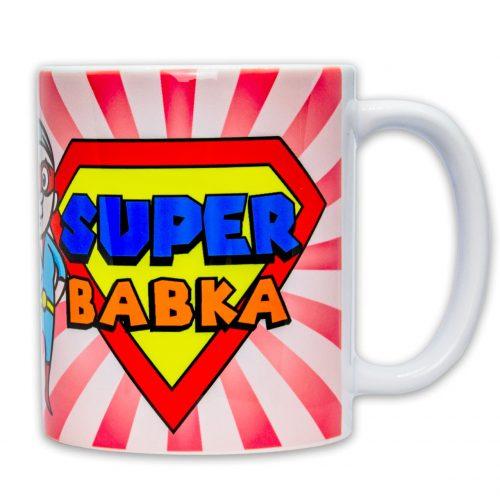 Hrnček s obrázkom - Super Babka