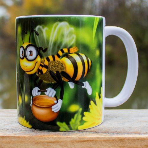 Hrnček s obrázkom - Včielka