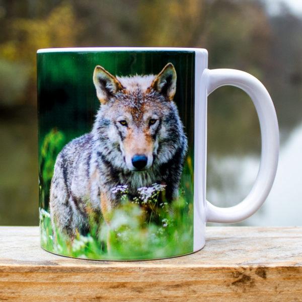 Hrnček s obrázkom - Vlk