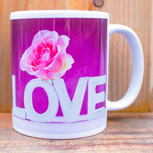Hrnček s obrázkom - Love