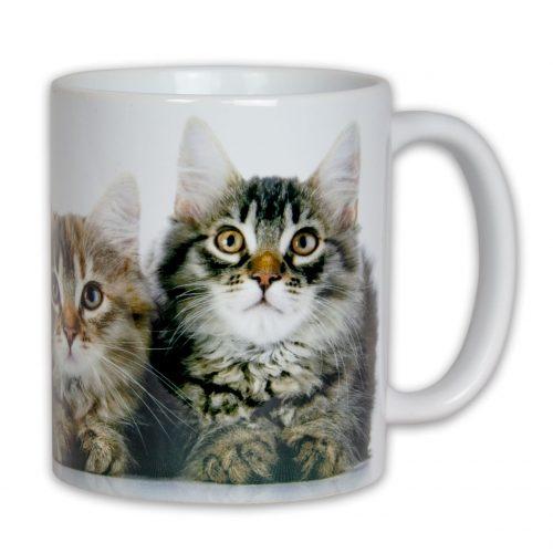 Hrnček s obrázkom - Mačky