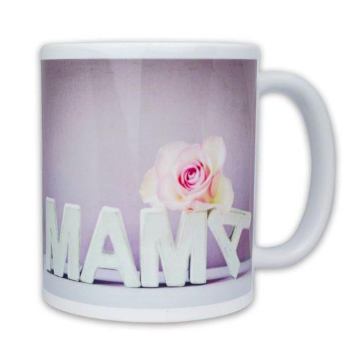 Hrnček s obrázkom - Mama Ružová