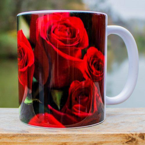 Hrnček s obrázkom - Ruže