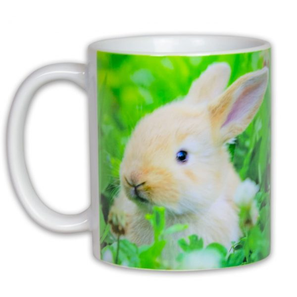 Hrnček s obrázkom - Zajac