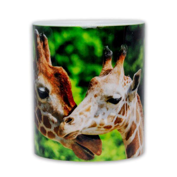 Hrnček s obrázkom - Žirafa