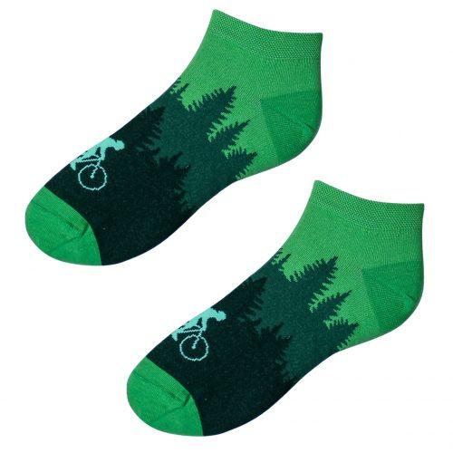 Členkové veselé ponožky – Cyklista