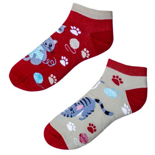 Členkové veselé ponožky – Mačiatka