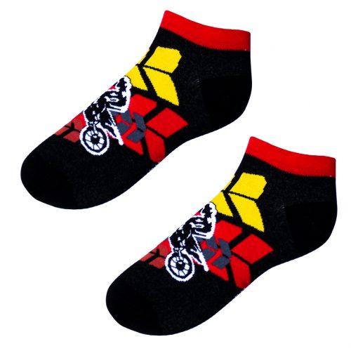 Členkové veselé ponožky – Motokros