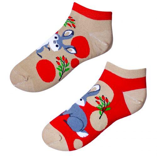Členkové veselé ponožky – Zajac