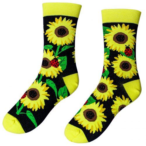 Veselé ponožky –Slnečnice