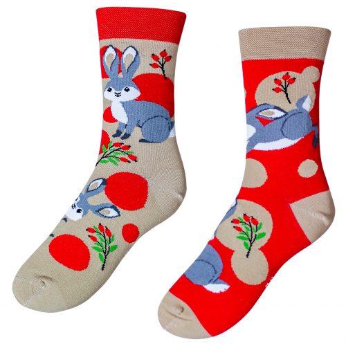 Veselé ponožky –Zajac