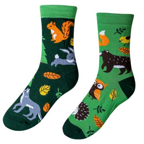 Veselé ponožky Lesné zvieratká