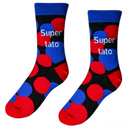 Veselé ponožky Super tato